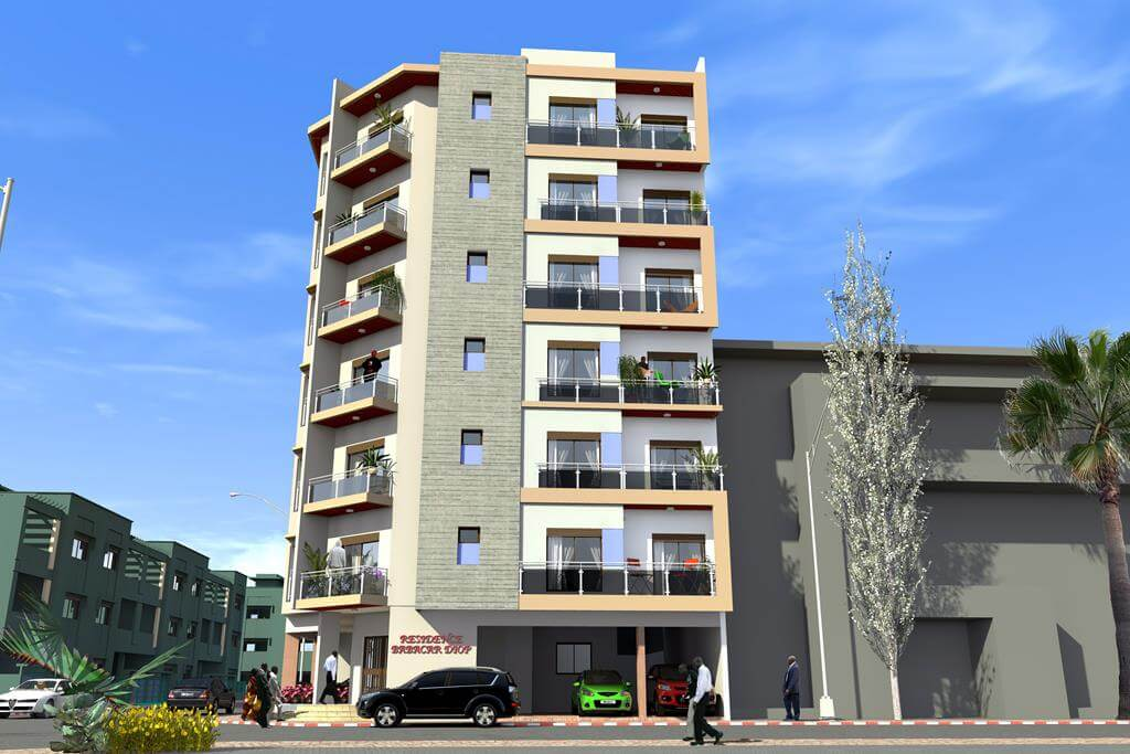 Residence Babacar Diop - vue 03