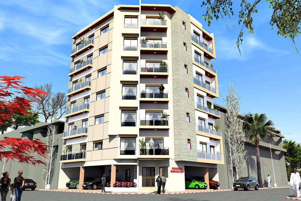 Residence Babacar Diop vue 1